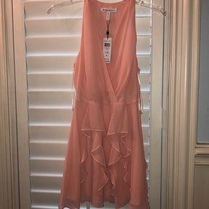 NWT BCBGeneration Coral Ruffle Dress Size 6